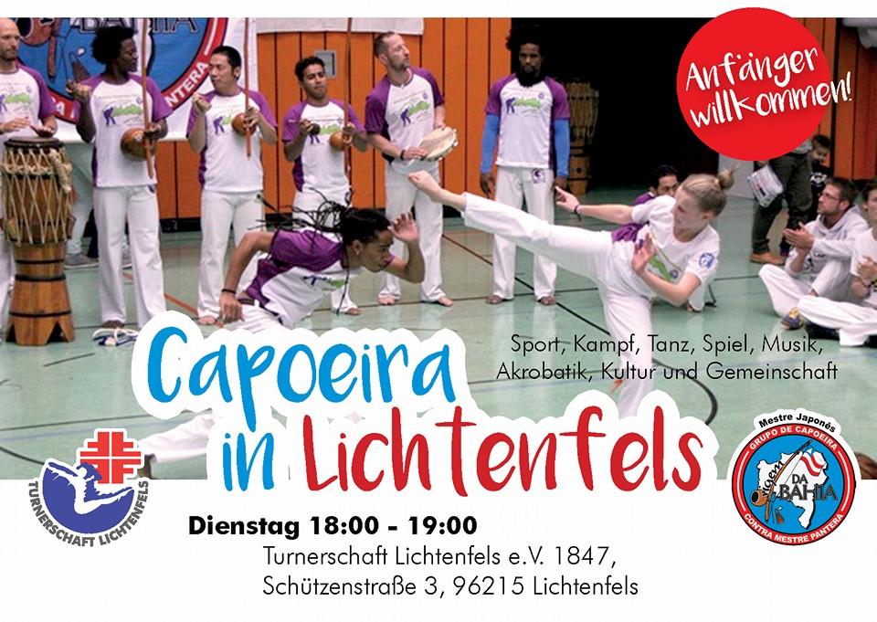 Flyer Capoeira in Lichtenfels